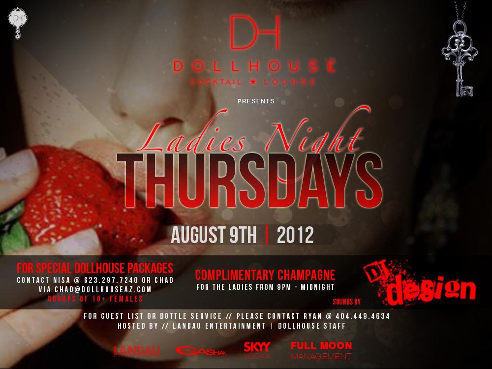 Ladies Night Thursday's Feat. DJ Design