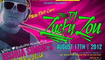 Smashboxx Fridays: Party Rock Crew Feat. DJ Lucky Lou