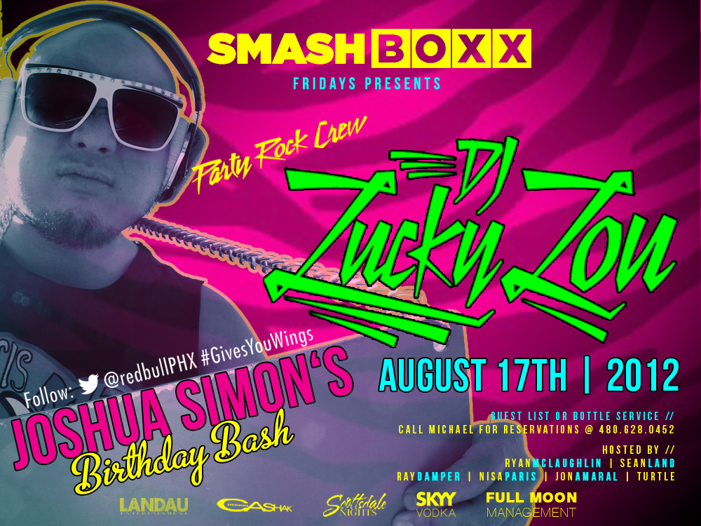 Smashboxx Fridays: Party Rock Crew Feat. DJ Lucky Lou