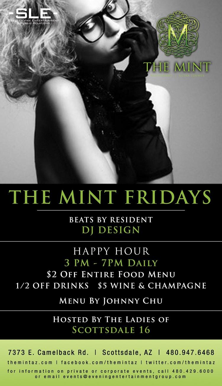 Mint Fridays w/ DJ Design @ The Mint