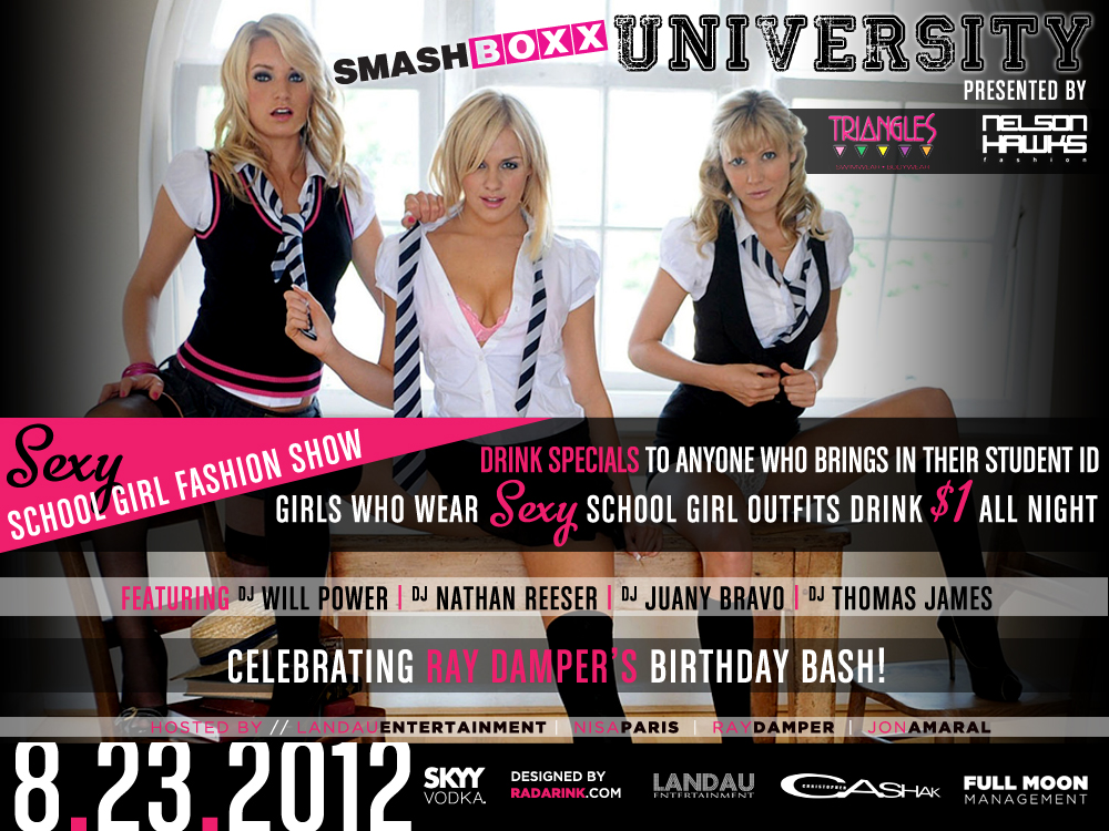 SMASHBOXX UNIVERSITY: BACK 2 SCHOOL BASH