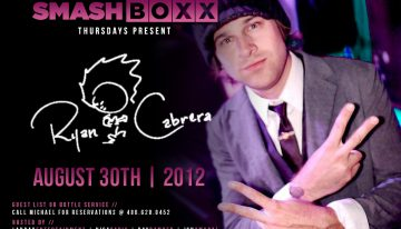 Ryan Cabrera @ Smashboxx