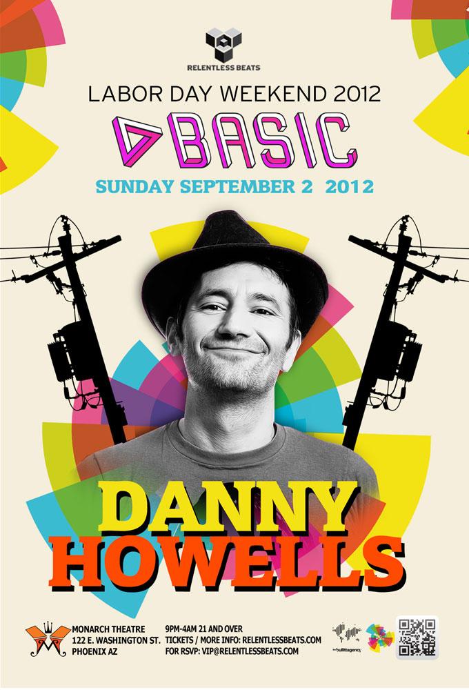 DANNY HOWELLS @ BASIC – LDW 2012