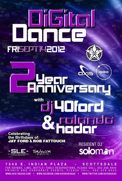 REPUBLIC Digital Dance 2 Year Anniversary w/ DJ 40FORD