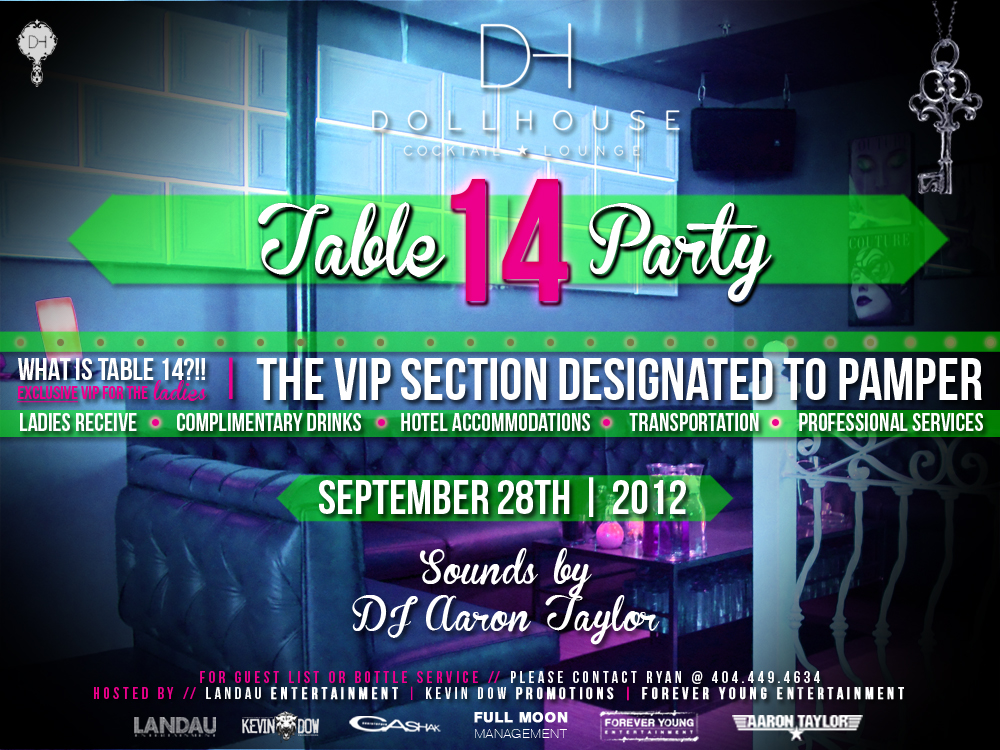 Table 14 Party feat. DJ Aaron Taylor