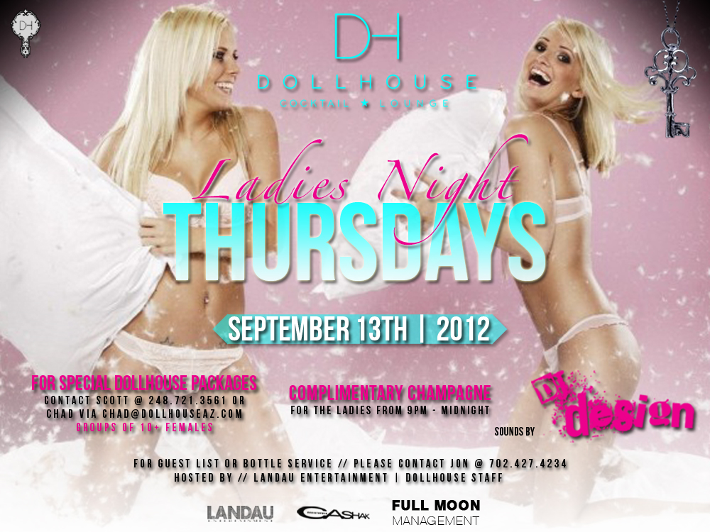 Ladies Night @ Dollhouse