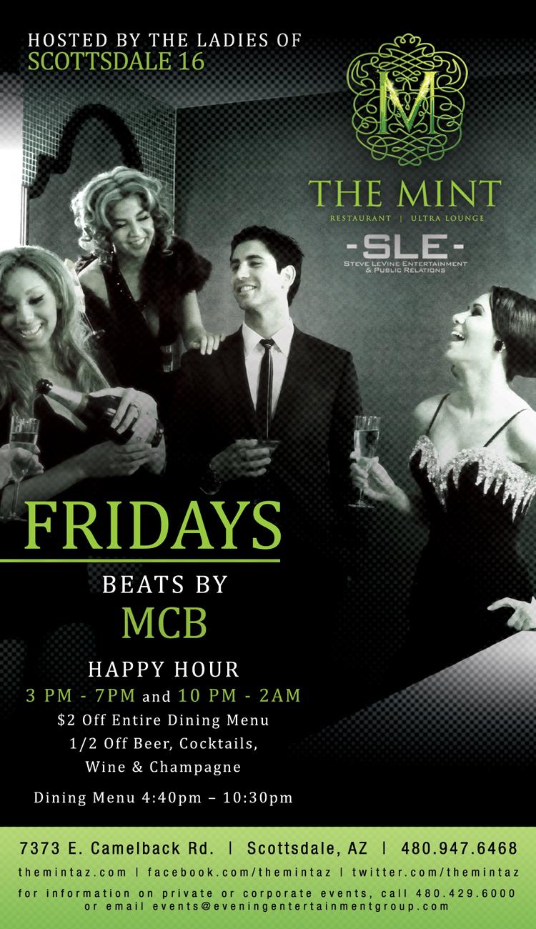 Mint Fridays w/ DJ MCB @ The Mint