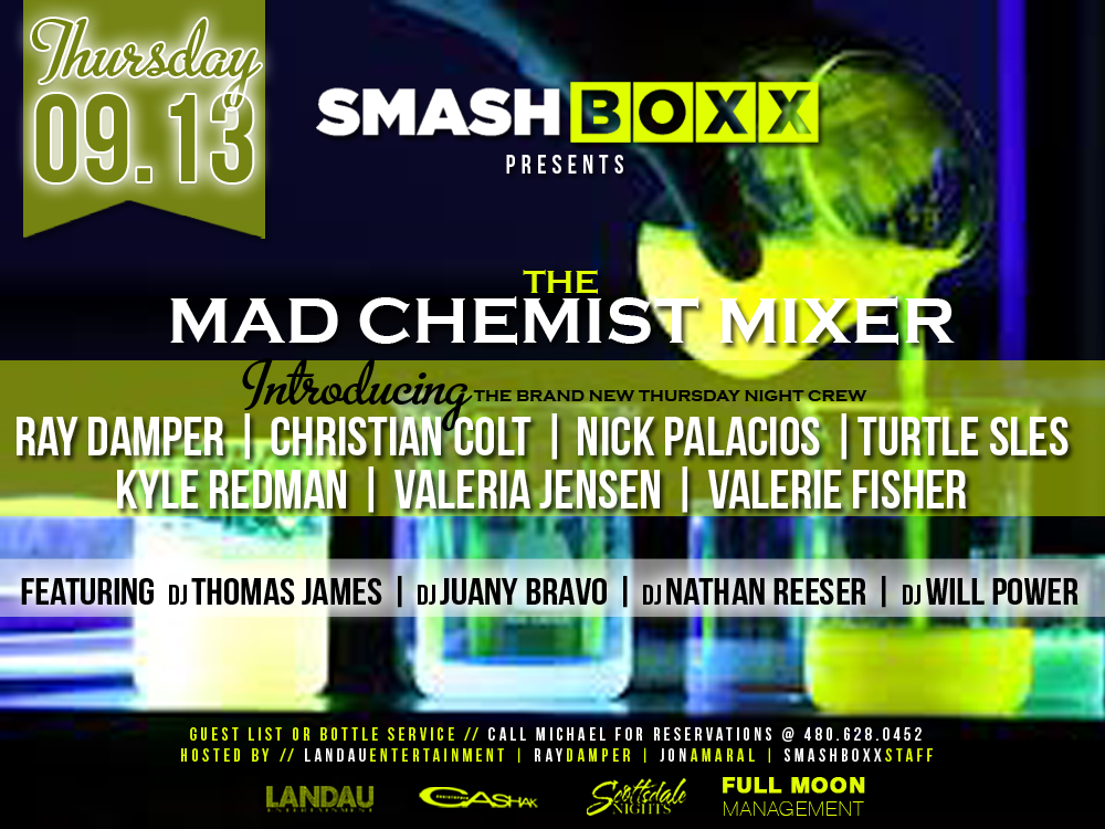 The Mad Chemistry Mixer