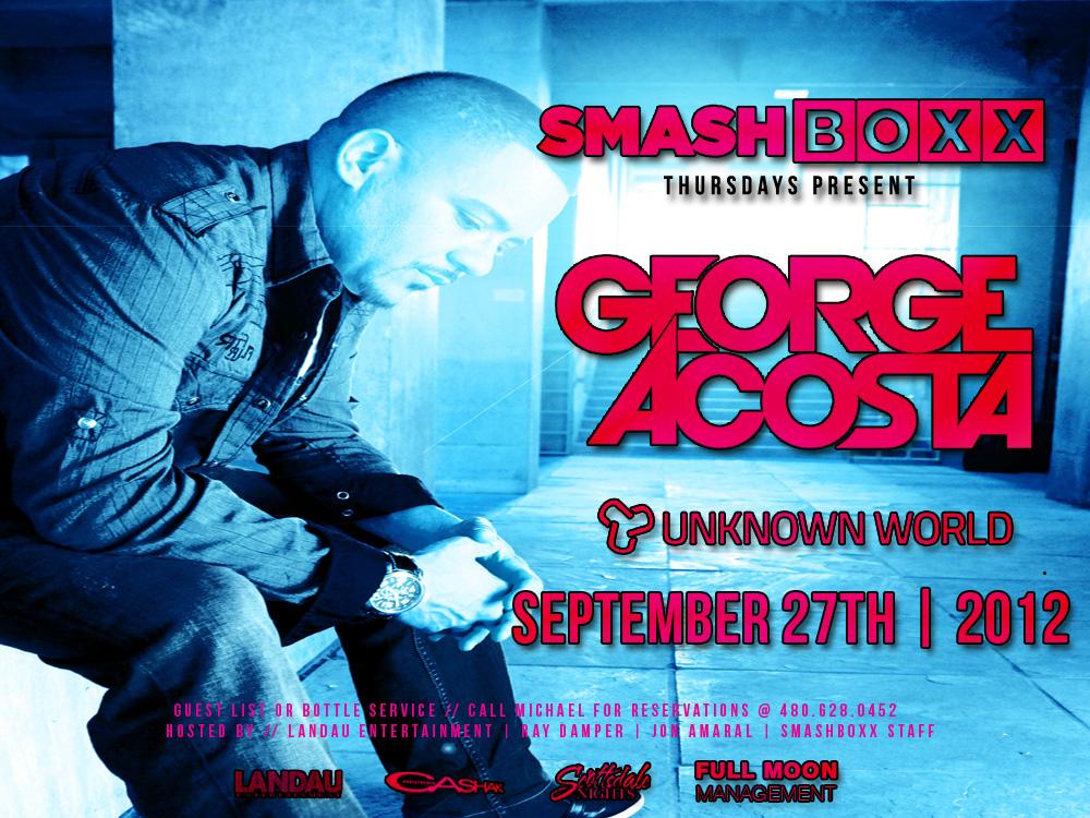 George Acosta @ Smashboxx
