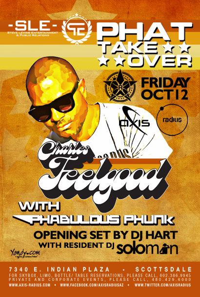 REPUBLIC Presents PHAT Takeover w/ Charles Feelgood + Granite & Phunk