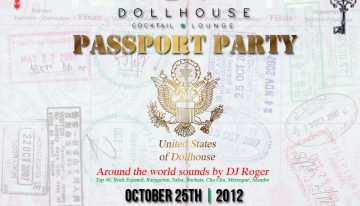 The Passport Party @ Dollhouse Cocktail Lounge