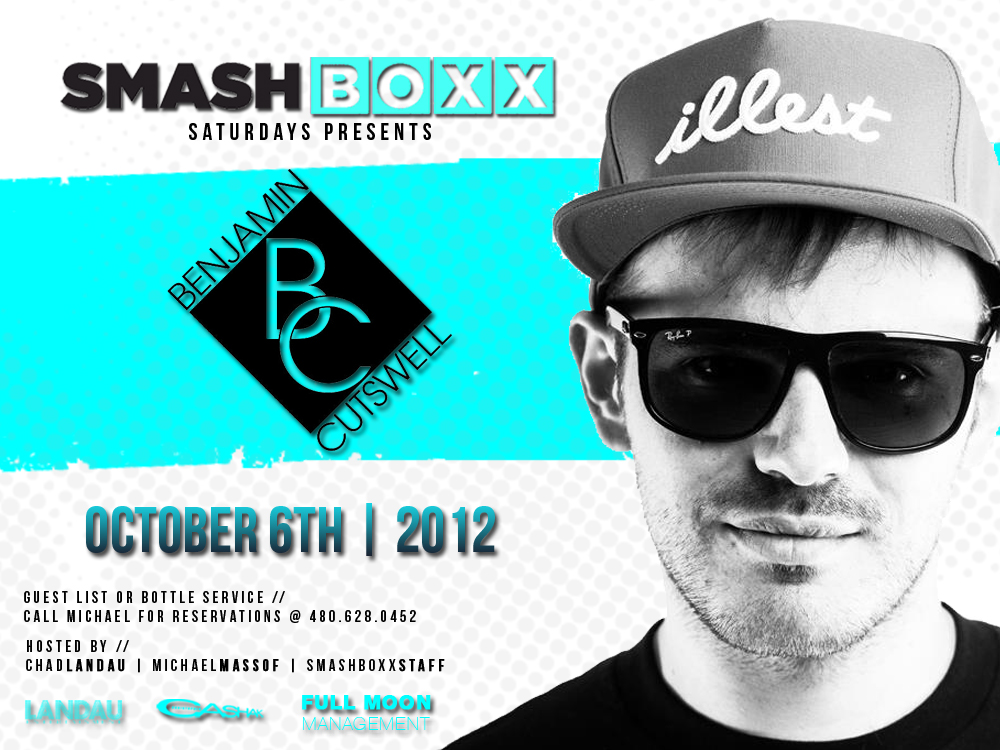 Smashboxx Saturdays feat. DJ Cutswell