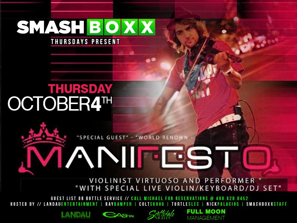 Manifesto @ Smashboxx