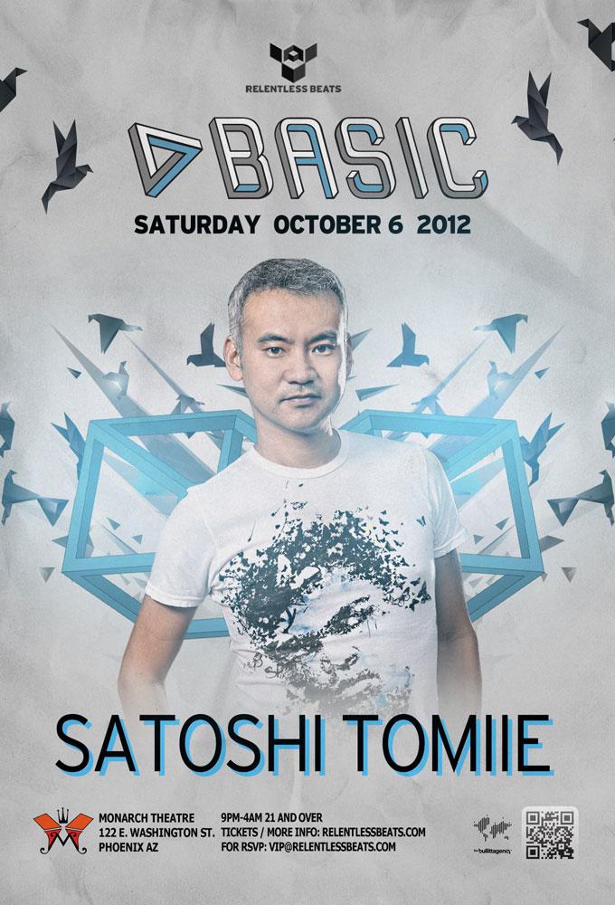 SATOSHI TOMIIE @ BASIC