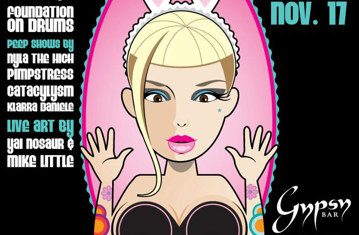 New Weekly Series 'PEEP ME XOXO' @ Gypsy Bar in Downtown PHX