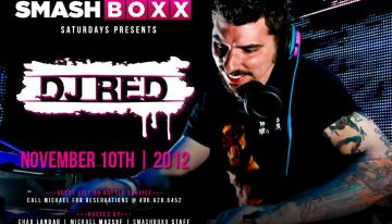Smashboxx Saturdays feat. DJ Red