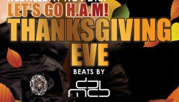 Thanksgiving Eve w/ DJ MCB @ The Mint AZ