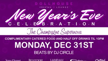 The Champagne Supernova @ Dollhouse on NYE