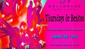 Thursdays de Besitos @ Dollhouse Cocktail Lounge