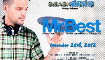Smashboxx Friday's Presents: Mr. Best