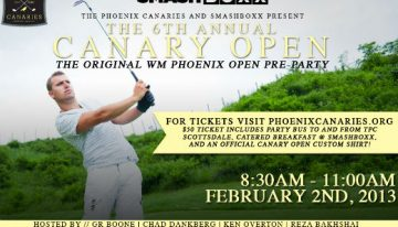 The 6th Annual Canary Open @ Smashboxx
