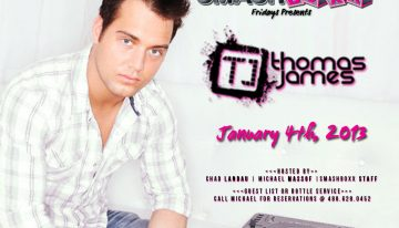 Smashboxx Fridays with DJ Thomas James