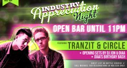 Industry Tuesdays Ft. Circle & Tranzit @ Smashboxx