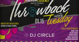 Industry Tuesdays: Throwback Night ft. DJ Circle @ Smashboxx