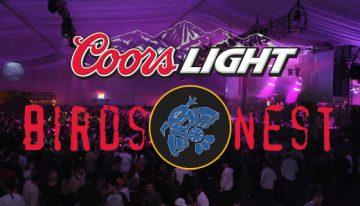 The 2013 Coors Light Birds Nest Line-Up
