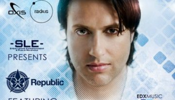 REPUBLIC Featuring EDX @ Axis Radius