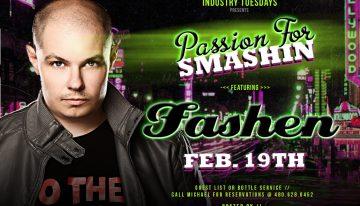 Industry Tuesdays Ft. Fashen @ Smashboxx