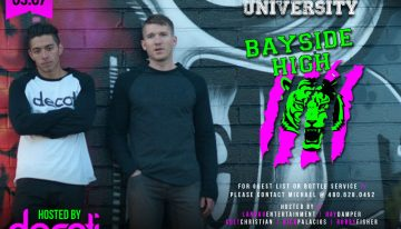 Smashboxx University Presents The Decati Apparel Takeover Ft. Bayside High