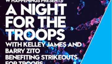 A Night for the Troops Ft. Kelley James & Barry Zito @ W Scottsdale
