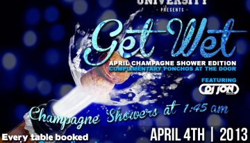 Smashboxx University: Get Wet – April Champagne Showers Edition ft. DJ Jon