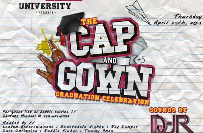 Smashboxx University: The Cap & Gown Graduation Celebration