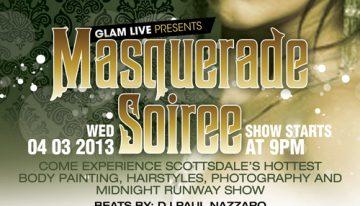 Masquerade Soiree: Ben Moline Fashion Show ft. Rico De Largo @ The Mint
