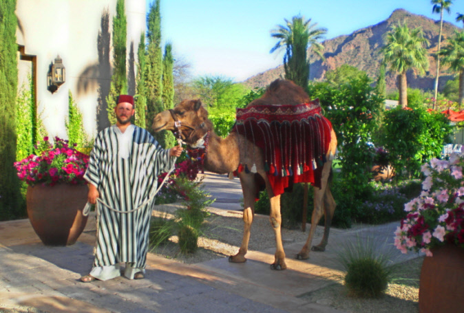 8-new-Costumed-Camel-and-trainer-at-Camelback-Mt