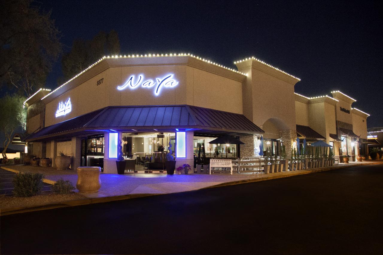 Naya - Exterior at Night