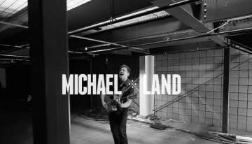 Local Musician, Michael Land Making Dreams Come True