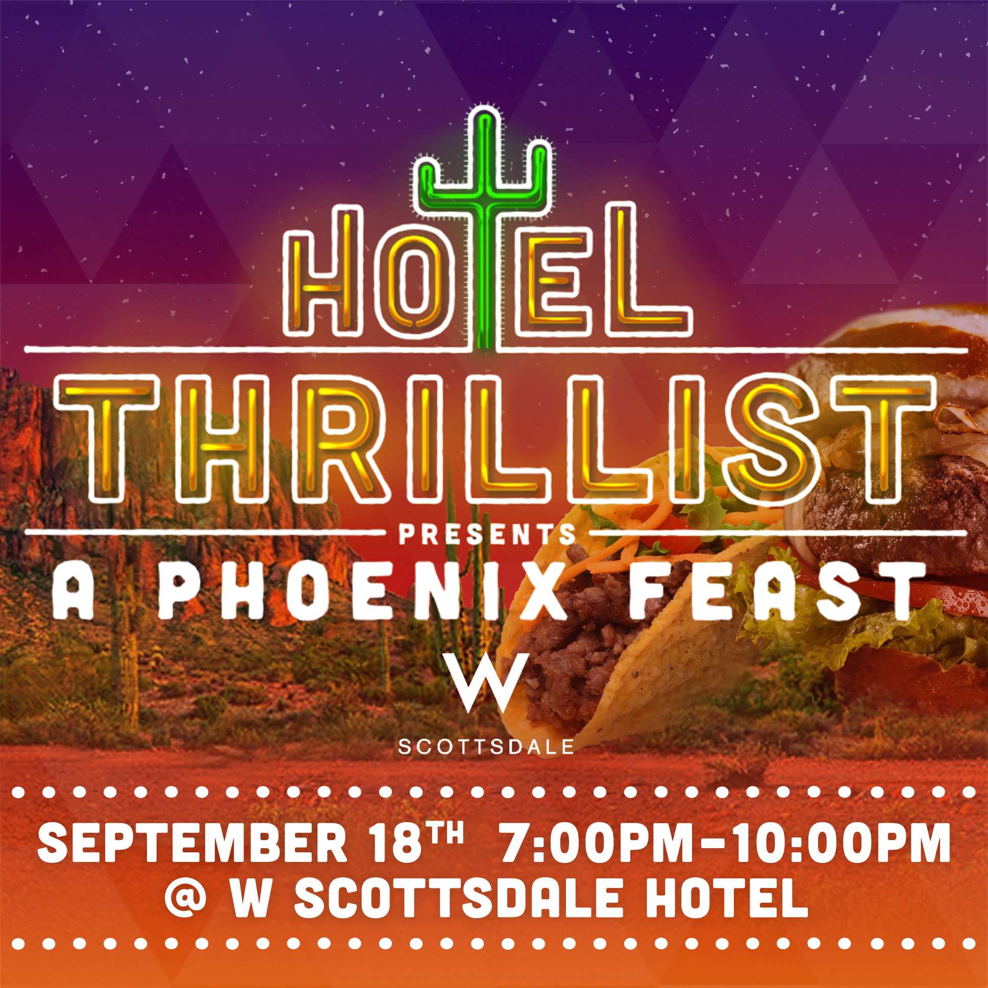 Hotel Thrillist Brings the Party to W Scottsdale in September ...