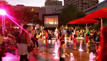 City Lights Movie Nights Return to CityScape
