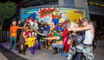 Comicon Events Taking Over CityScape