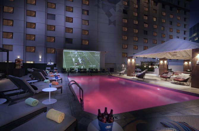 The Camby Hosts Weekly Rooftop Red Zone Series