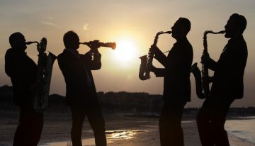 Get Jazzy with The Italian Saxophone Quartet