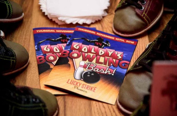 Second Annual Goldy's Bowling Bash Returns to Lucky Strike