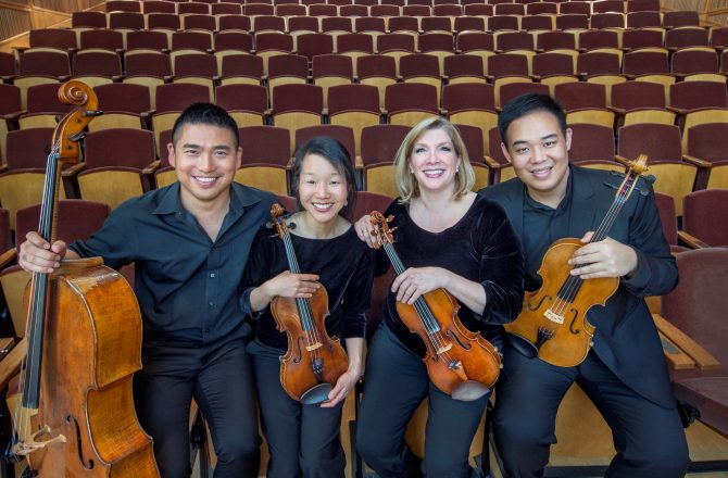 The Cavani String Quartet is Coming to Gold Canyon Church