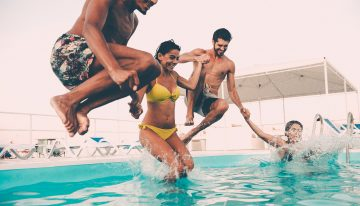 100 Days of Summer Pool Parties at LUSTRE