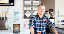 Behind the Bar: Mike Chapman of Huss Brewing Co.