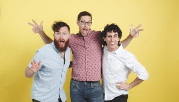 Lewberger: Q&A with the Three-Man Comedy Band