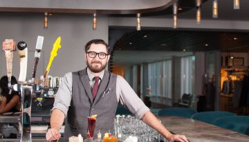 Behind the Bar: Travis Garcia of Hearth '61
